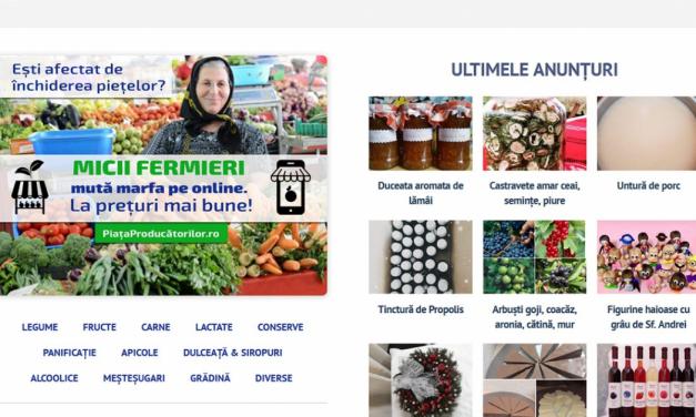 S-a lansat o nouă platformă dedicată promovării micilor fermieri și a produselor românești